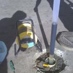 Monitoramento de áreas contaminadas