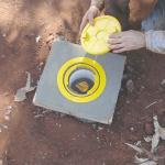 Poço de monitoramento de águas subterrâneas