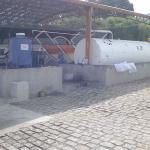 Instalação de tanque de combustível