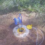 Poço de monitoramento ambiental